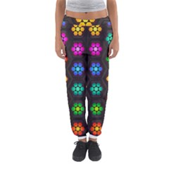 Pattern Background Colorful Design Women s Jogger Sweatpants