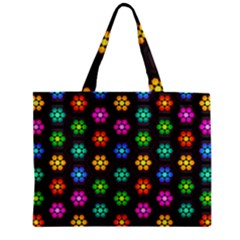 Pattern Background Colorful Design Zipper Mini Tote Bag