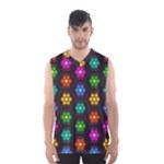 Pattern Background Colorful Design Men s Basketball Tank Top