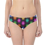 Pattern Background Colorful Design Hipster Bikini Bottoms