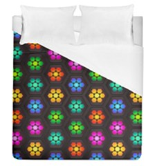 Pattern Background Colorful Design Duvet Cover (Queen Size)