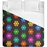 Pattern Background Colorful Design Duvet Cover (King Size)