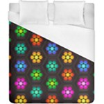 Pattern Background Colorful Design Duvet Cover (California King Size)