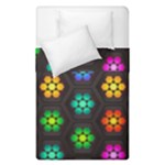 Pattern Background Colorful Design Duvet Cover Double Side (Single Size)