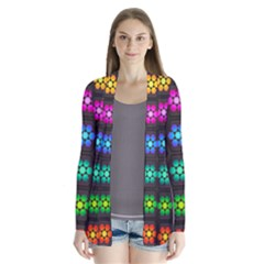 Pattern Background Colorful Design Cardigans