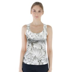 Pattern Motif Decor Racer Back Sports Top