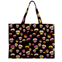 Jammy Cupcakes Pattern Mini Tote Bag by Valentinaart