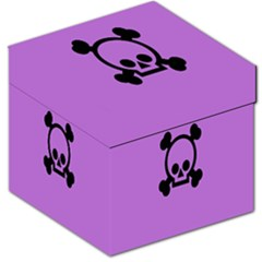 Cartoonskull Danger Storage Stool 12   by Jojostore
