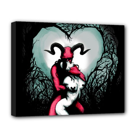 Happily Ever After Deluxe Canvas 20  X 16   by lvbart