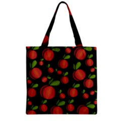 Peaches Grocery Tote Bag by Valentinaart