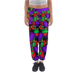 Plums And Peaches Women s Jogger Sweatpants by Valentinaart