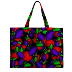 Plums And Peaches Medium Tote Bag by Valentinaart