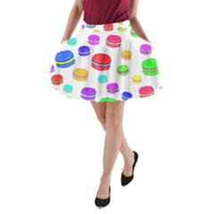 Macaroons A Line Pocket Skirt by Valentinaart