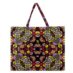 Queen Honey Zipper Large Tote Bag by MRTACPANS