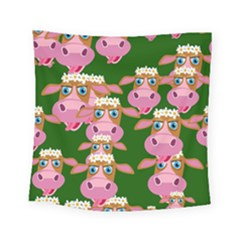 Cow Pattern Square Tapestry (small)