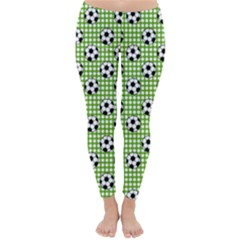 Green Ball Classic Winter Leggings by Jojostore