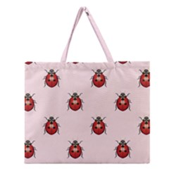 Insect Animals Cute Zipper Large Tote Bag by Jojostore