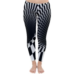 Optical Illusions Classic Winter Leggings by Jojostore