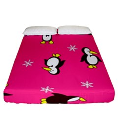 Penguin Fitted Sheet (california King Size)