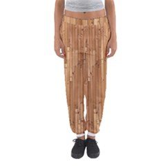 Parquet Floor Women s Jogger Sweatpants by Jojostore