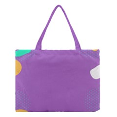 Purple Medium Tote Bag by Jojostore