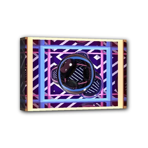 Abstract Sphere Room 3d Design Mini Canvas 6  X 4  by Amaryn4rt
