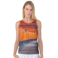 Architecture Art Bright Color Women s Basketball Tank Top by Amaryn4rt