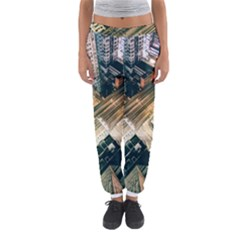 Architecture Buildings City Women s Jogger Sweatpants by Amaryn4rt