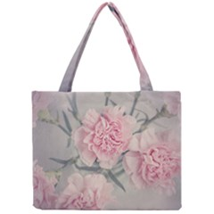 Cloves Flowers Pink Carnation Pink Mini Tote Bag by Amaryn4rt