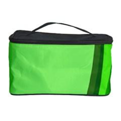 Simple Green Cosmetic Storage Case by Jojostore