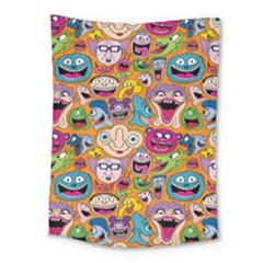 Smiley Pattern Medium Tapestry