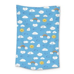 White Clouds Small Tapestry