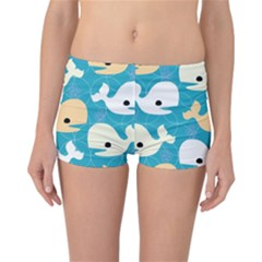 Whole Sea Animals Reversible Bikini Bottoms by Jojostore