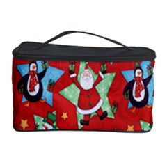 Xmas Santa Clause Cosmetic Storage Case