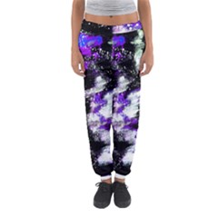 Abstract Canvas Acrylic Digital Design Women s Jogger Sweatpants by Amaryn4rt