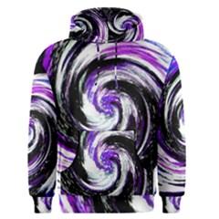 Canvas Acrylic Digital Design Men s Pullover Hoodie