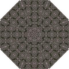 Line Geometry Pattern Geometric Hook Handle Umbrellas (small) by Amaryn4rt