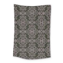 Line Geometry Pattern Geometric Small Tapestry