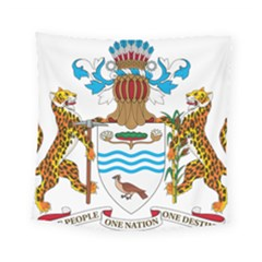 Coat Of Arms Of Guyana Square Tapestry (small)