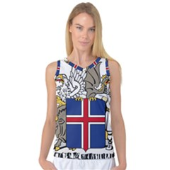 Coat of Arms of Iceland Women s Basketball Tank Top by abbeyz71