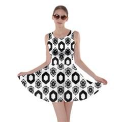 Background Pattern Skater Dress