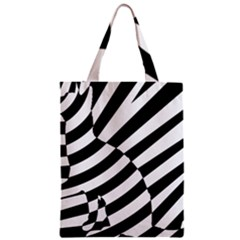 Casino Cat Ready For Scratching Black Zipper Classic Tote Bag by Jojostore