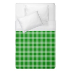 Gingham Background Fabric Texture Duvet Cover (single Size)
