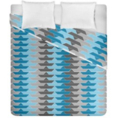 Pattern Boats Background Ship Duvet Cover Double Side (california King Size) by Jojostore