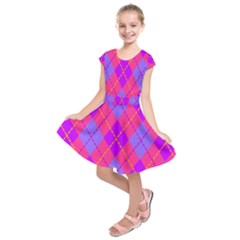 Texture Kids  Short Sleeve Dress by Jojostore