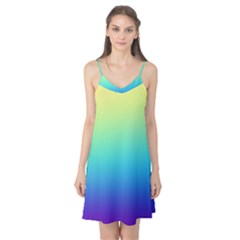 Purple Blue Green Camis Nightgown