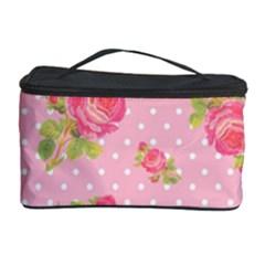 Rose Pink Cosmetic Storage Case by Jojostore