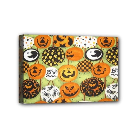 Print Halloween Mini Canvas 6  X 4  by Jojostore