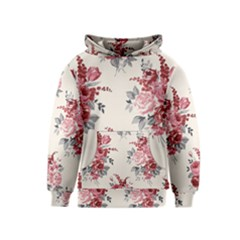 Rose Beauty Flora Kids  Pullover Hoodie by Jojostore