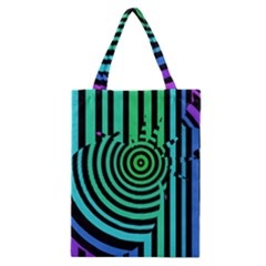 Art Of A Cat Popping A Balloon Classic Tote Bag by Jojostore
